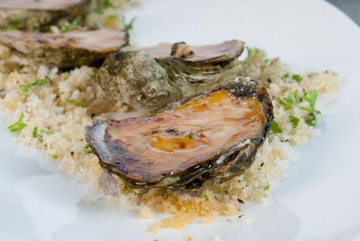 Oysters Motoyaki http://gustotv.com/recipes/appetizer/oyster-motoyaki/