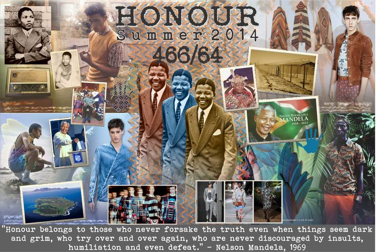 Summer 2014 Honour Collection inspired by the Honour Nelson Mandela maintained throughout his life. #inspiration #honour #menstyle #fashion
