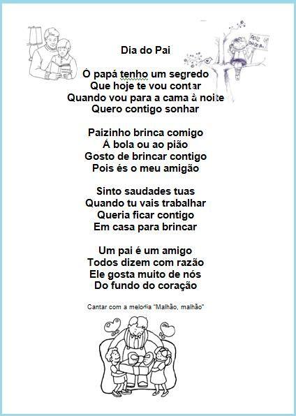 Educ@ naWeb ....Pré-Escolar: Uma canção para o Pai