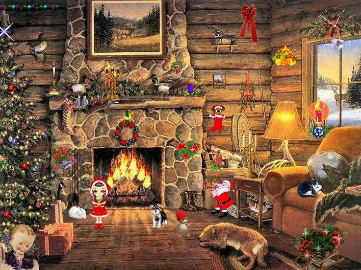 Free Christmas Screensavers with Music | Christmas Screensaver - Christmas Paradise - FullScreensavers.com