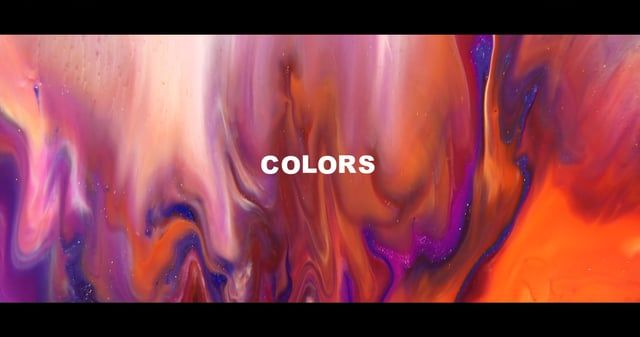 """""""COLORS"""" is an experimental dreamlike video rocking us smoothly through circular…"""