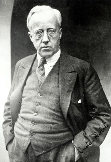 English composer Gustave Holst