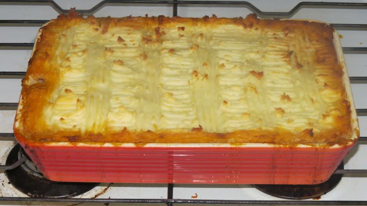 An oldie but a goodie. A healthier version of Cottage Pie.