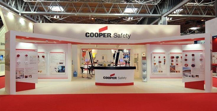Cooper Safety exhibition stand at Firex, NEC, Birmingham