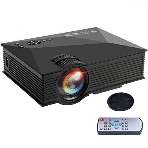 "Videoprojecteur Yokkao Mini Projecteur Portable LCD LED Full HD 1080P 130 "" Divertissement Cinéma, Domicile, Théâtre, Multimédia, Conférence pour PC Tablet/ Smartphone, etc 