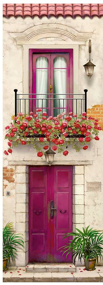 Fucsia Door