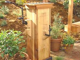 I Wouldn T Mind Having A Drinking Fountain Outside For The Kids Hmmm Garden Ideas In 2018 Pinterest Yard And Backyard