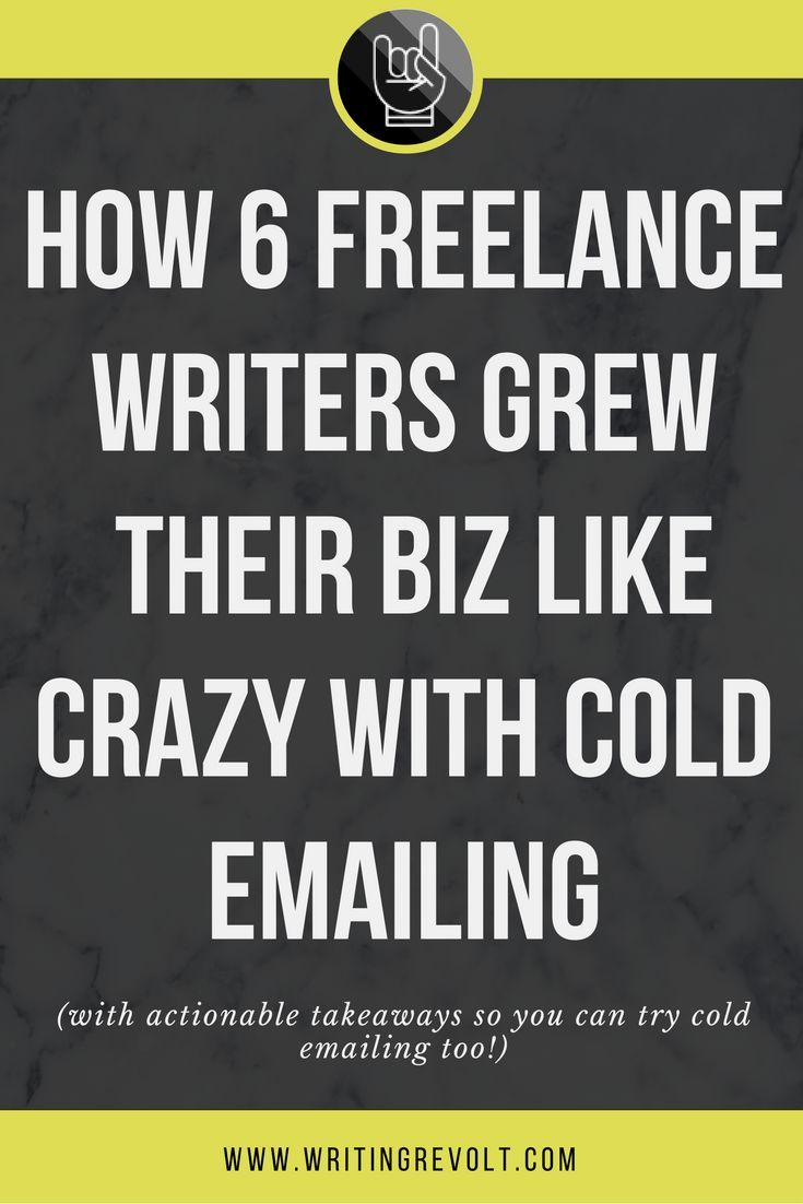 If you want to make money writing online, you NEED to learn how to write a good cold email. This post will give you the inspiration you need to make it happen – check it out! :)
