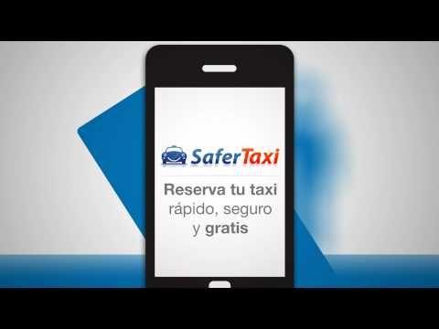 SaferTaxi - Reserva tu taxi rápido, seguro y gratis!