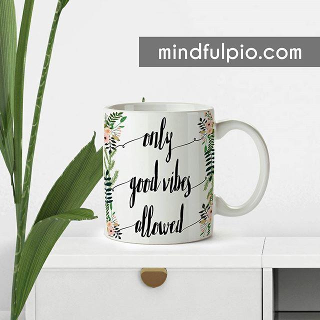 Mug Solo Buenas Vibras Permitidas ✋ MINDFULPIO.COM | @yomanifiesto