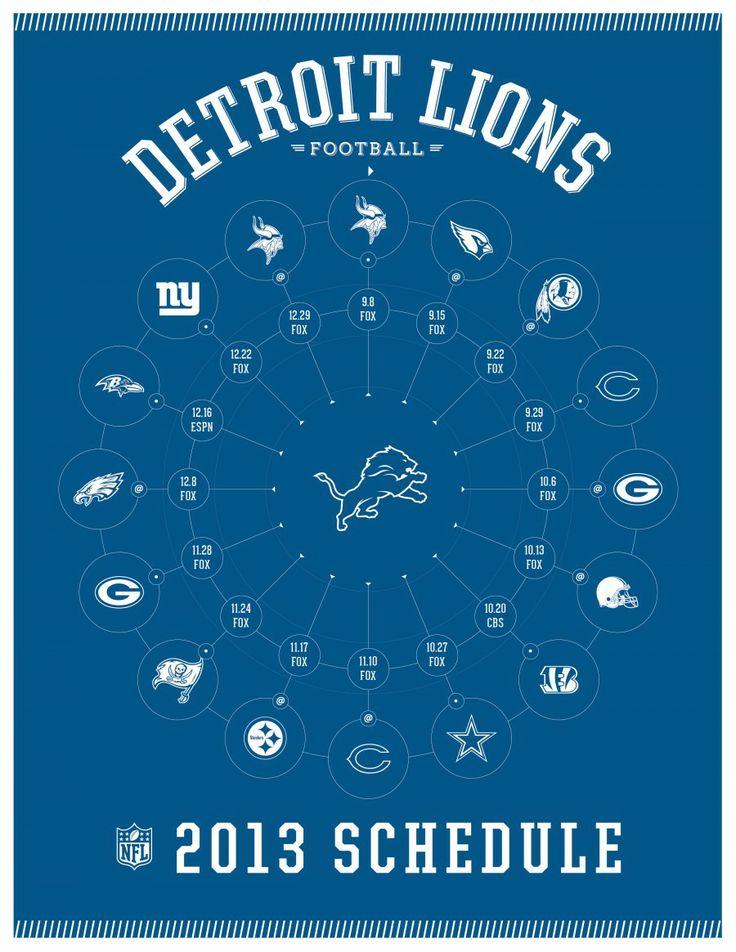 NFL Schedule Template
