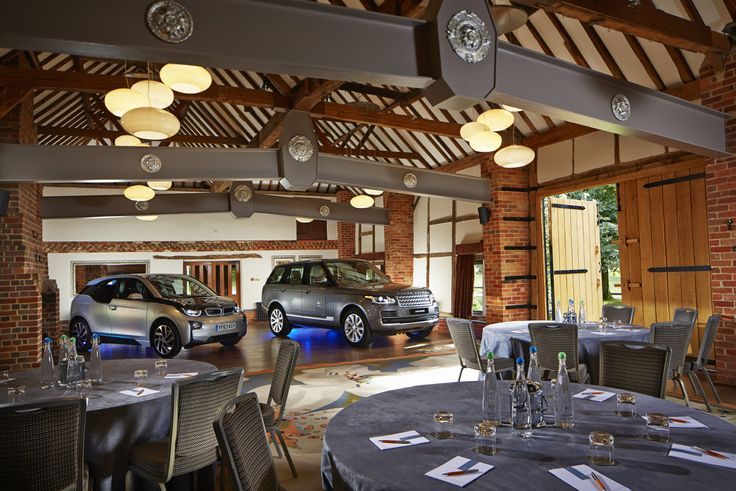 Our 17th century Dawley Barn is just perfect for meetings, conferences, weddings and.. even car launches!