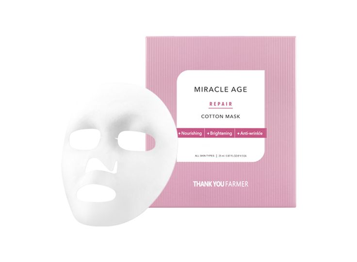 Miracle Age Repair Cotton Mask  — THANK YOU FARMER