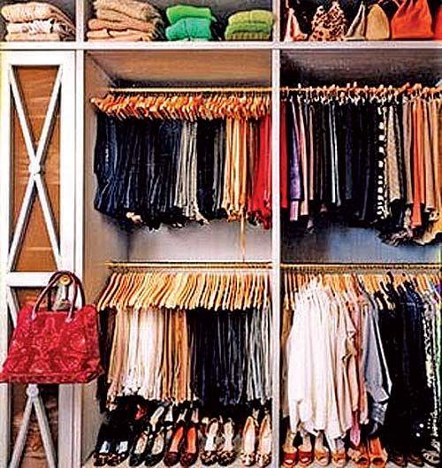 Pasos para ordenar tu armario de ropa