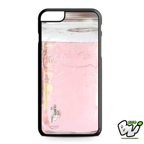 Pink Glass Mason Jar iPhone 6 Plus | iPhone 6S Plus Case