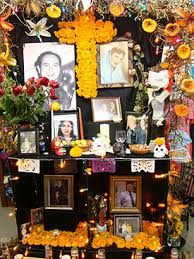 Image result for making an altar for dia de los muertos