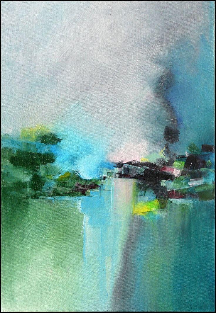 Village bleu 01 2012 by Malahicha on DeviantArt