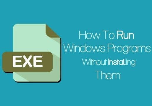 Run Windows Programs Without Installing Them (Zero Install) - http://www.qdtricks.org/run-windows-programs-without-installing/
