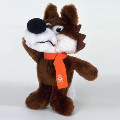 '84 sarajevo winter olympics mascot