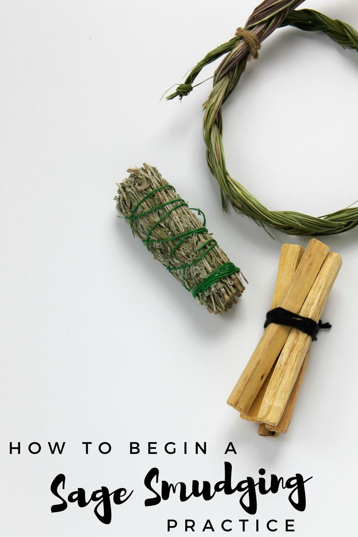 sage smudging how to cleanse negative energy