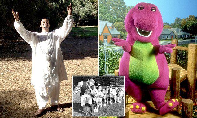 David Joyner, 54, played the purple dinosaur between 1991 and 2001, on the PBS children's show Barney & Friend