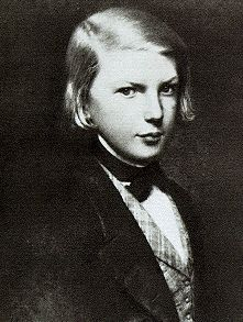 "Young Victor Hugo, who would later write the novels, ""Les Miserables"" & ""The…"