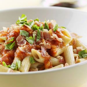 Penne with Vodka and Capicola: W Vodka Sauce, Tomatoes Sauces, Yummy Recipes, Healthy Pasta Dishes, Penn Pasta, Vodka Sauce Recipes, Capicola Recipes, Penn Vodka, Vodka Sauces Recipes