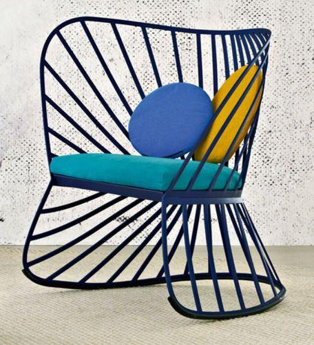fauteuil à bascule design original SOL by Constance Guisset Molteni & C