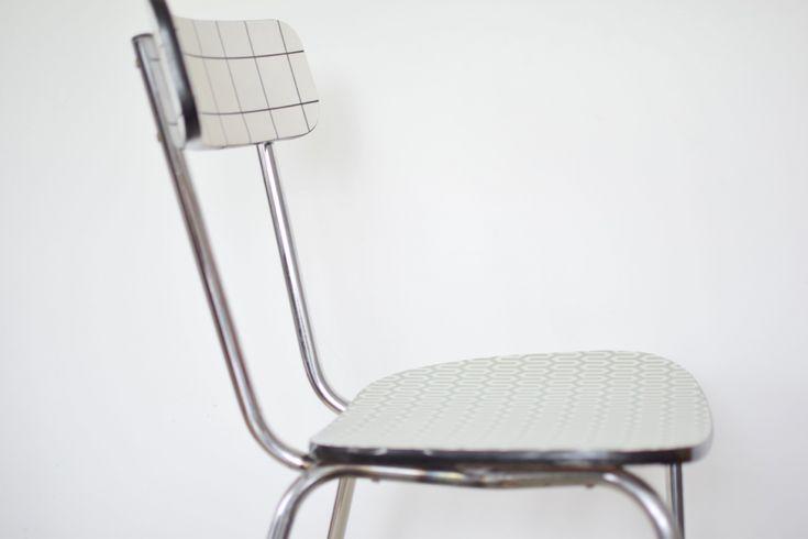 1000 id es sur le th me chaise formica sur pinterest - Relooker chaise formica ...