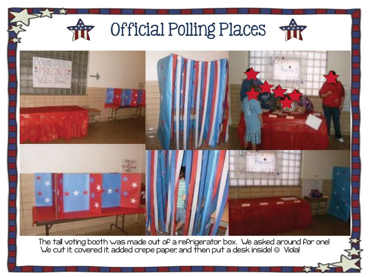 Classroom Voting Ideas ~ Best ideas about voting booth on pinterest primary