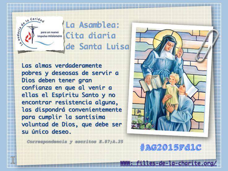 Cita diaria de Santa Luisa de las Hijas de la Caridad #AG2015FdlC #famvin