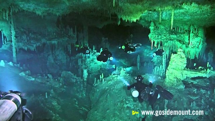 Cave diving....flash mob! What's not to like.  My first cave diving experience was in Palau!