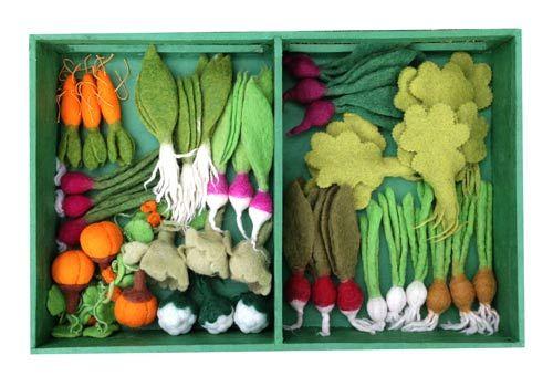 Grow a Garden Felt Veggie Kit
