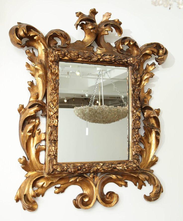 francia barokk tükör