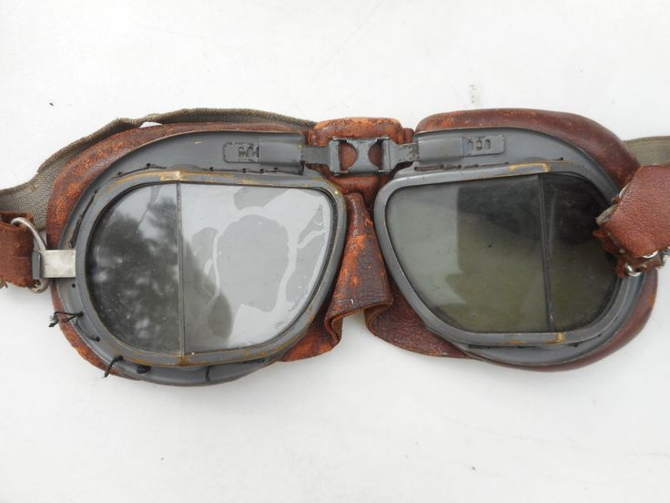 WW2 RAF Grouping Oxygen Mask Type H Leather Flight helmet Type C Early Goggles | eBay