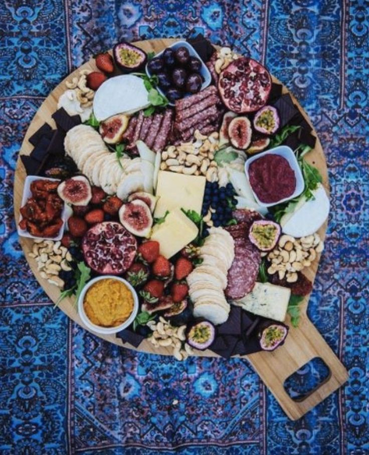 Cheese & cold meat platter