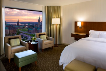 The Westin Ottawa - Great rooms at a recently renovated hotel. Steps away from the Ottawa conference centre.