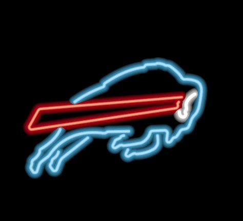 Buffalo Bills NFL Game Room Neon Sign