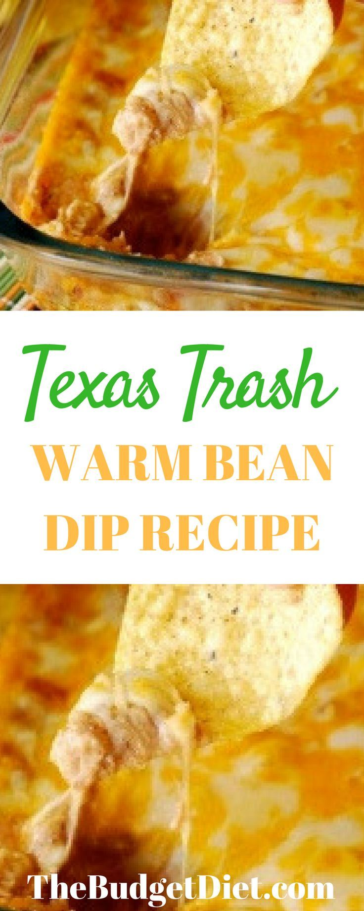 Texas Trash Warm Bean Dip Recipe | The Best Super Bowl - Or to Any Party Dip Recipe
