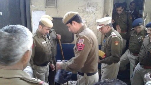 Low-intensity explosive materials were found in the toilet of #Dehradun-Jan Shatabdi Express at New Delhi Railway Station on 16.2.16 and defused on timeby the personnels...