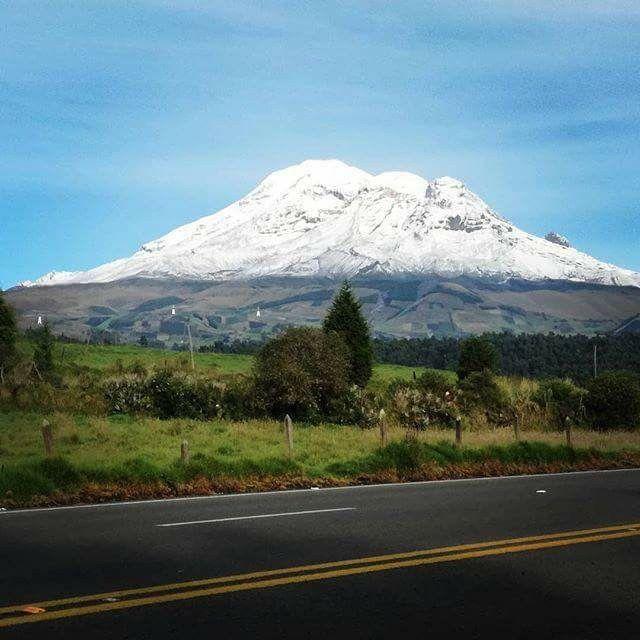 El Chimborazo Ecuador