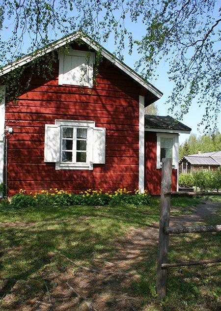 Ulkomuseoalue sijaitsee kahdella Oulujoen saarella, Turkansaaressa ja…