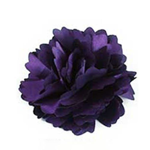 Ladies Satin Peony Flower Hair Clip Hairpin Brooch--Dark Purple by ASHOPONE. $2.99. Size:8cm*8cm. We have 22 colors in stock.You could choose any color you like. Material: Fabric. Can be used as hairpin,hair clip,hair claw or brooch. Package:1 pcs hair pin. Handmade flower is versatile enough making this piece perfect wear with any special occasion gown. Can either be pinned on your gown or worn in your hair with one of our slide on comb pin adapters.