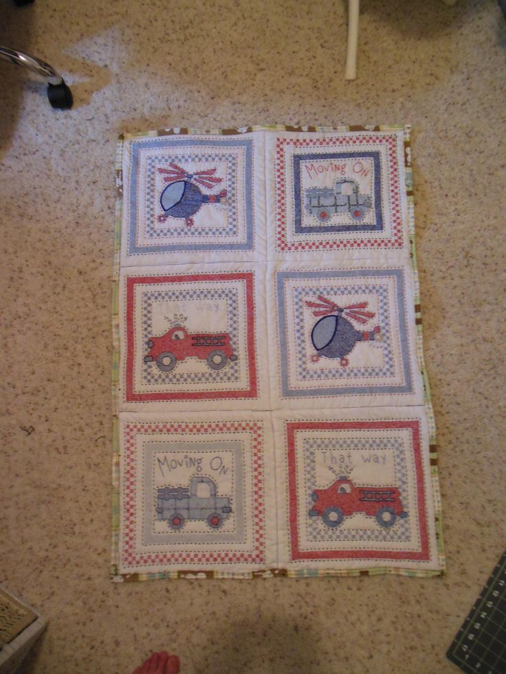 Quilt for our 3rd grandson