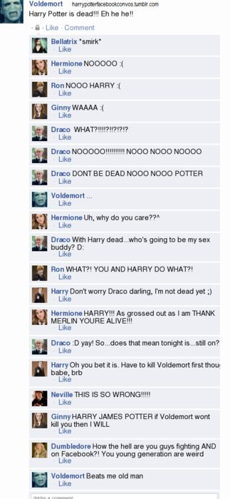 Drarry Dumbledore is posting beyond the grave