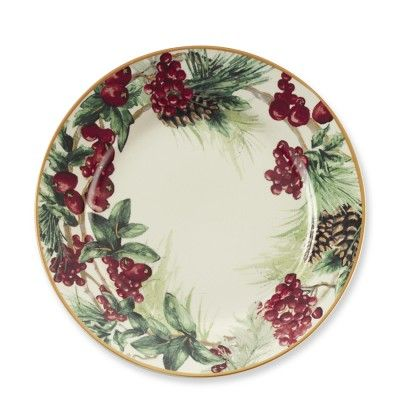 botanical wreath plates i think these are a must for christmas