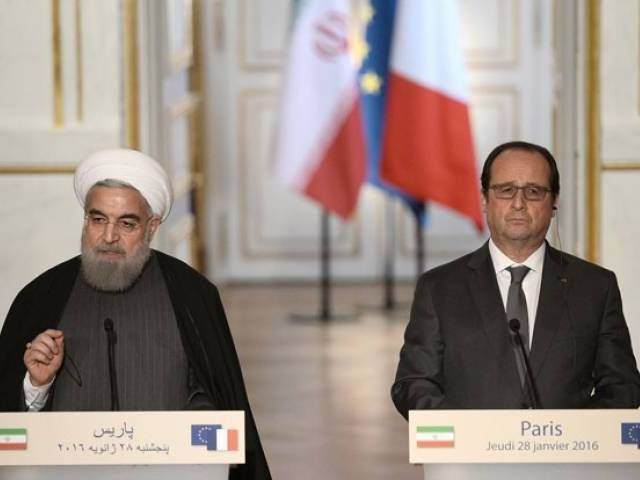 Iran's Rouhani says main problem in Syria is terrorism - The Express Tribune