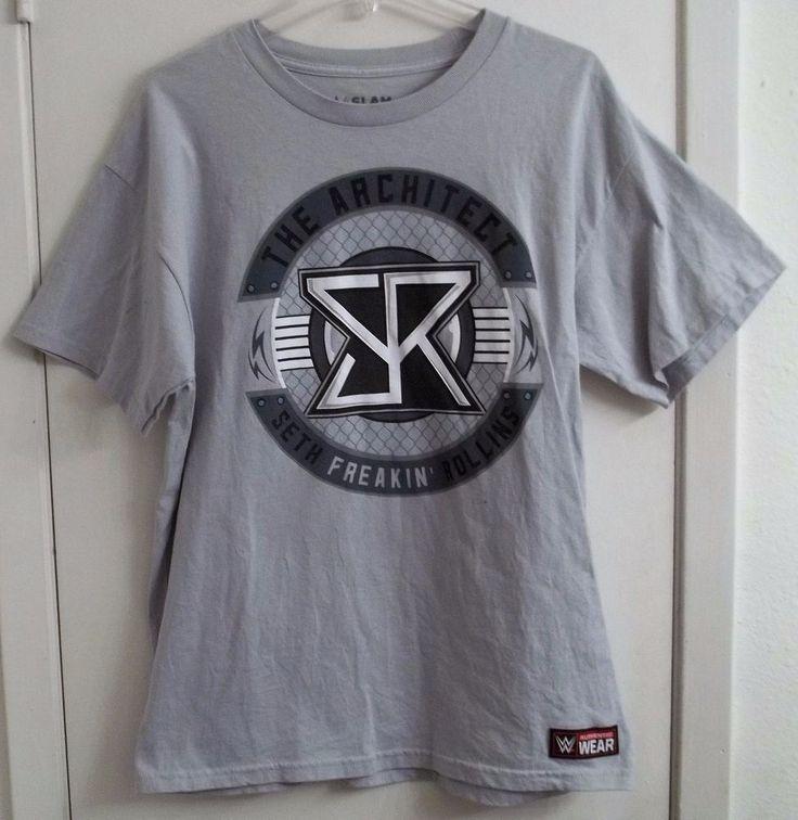 Seth Freakin' Rollins WWE T-Shirt Adult L Large The Architect #WWE