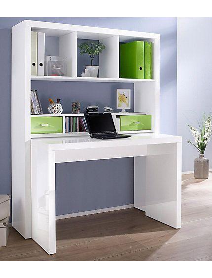 Bureaukast 'Danzig', met uittrekbaar bureau, HMW Mobel