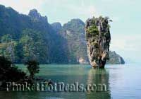 Phang Nga Bay Tour by Speed Boat : James Bond Canoe Tour by speed boat
